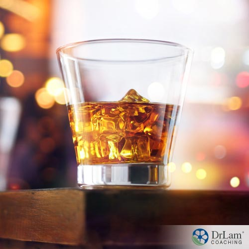 A glass of whiskey, alcohol and adrenal fatigue/