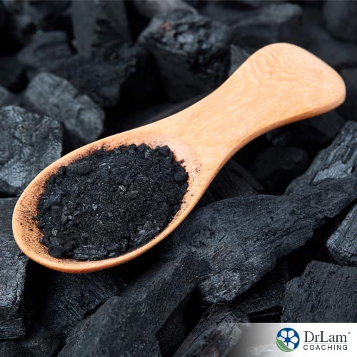 Benefits of activated charcoal in a spoon