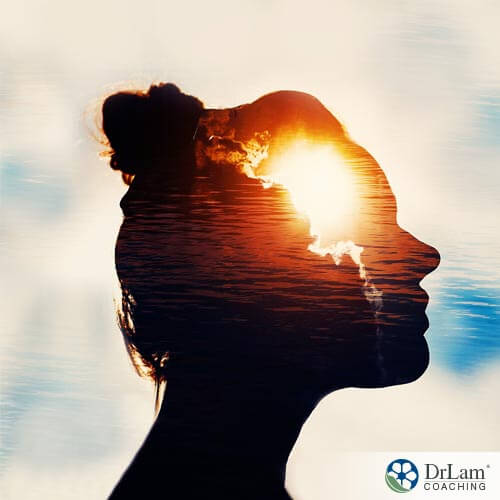 silhouette of a woman and the sunrise in her brain boosting minerals