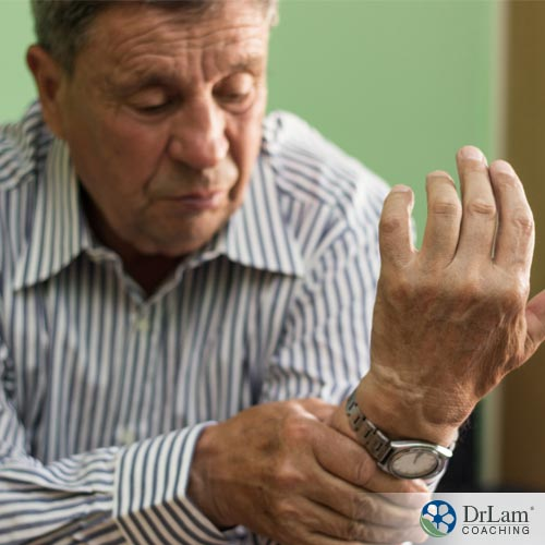A man with CTS needing Carpal Tunnel Exercises