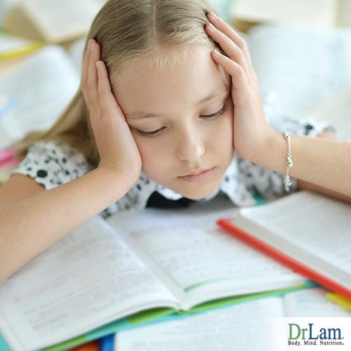 childhood stress and over studying