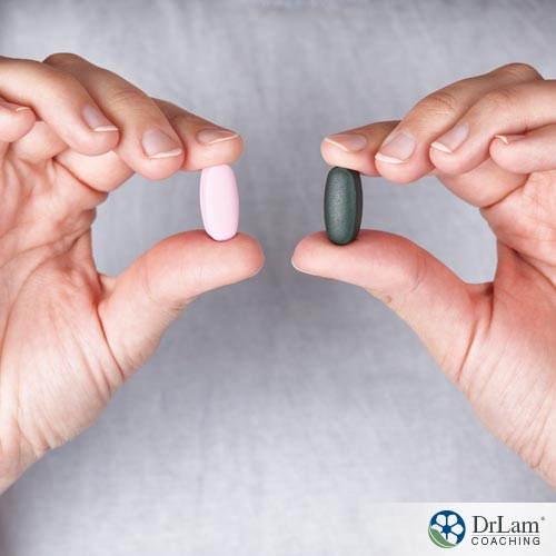 Two tablets of choline supplement