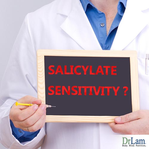 Diagnosing salicylate sensitivity