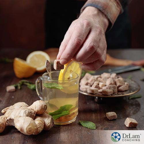 Improving your health with ginger water