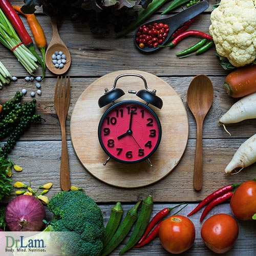 Eat on time with intermittent fasting