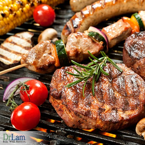 Healthy grilling to improve your energy
