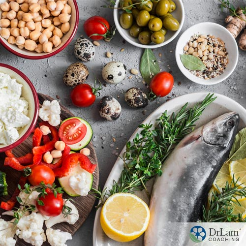Foods in Mediterranean diet
