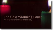 The Gold Wrapping Paper – An Inspirational Christmas Story