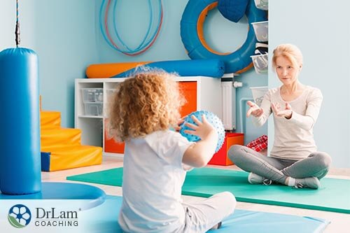 working with kids who have Sensory Processing Disorder