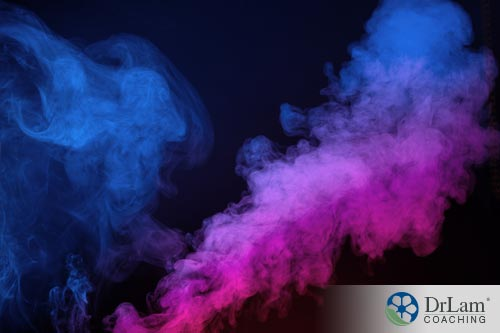 Alot of smoke could be the negative impact from incense