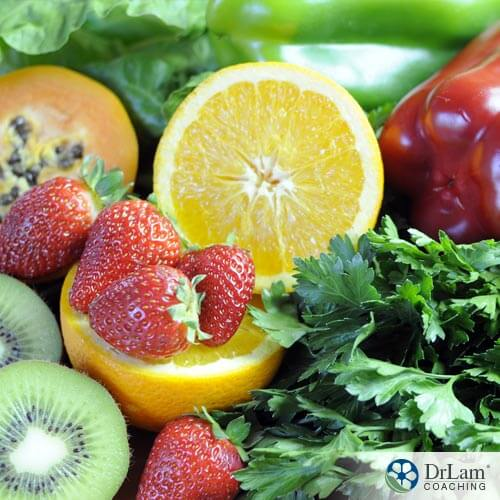 Strawberries, oranges, kiwi that are best sources of Vitamin C