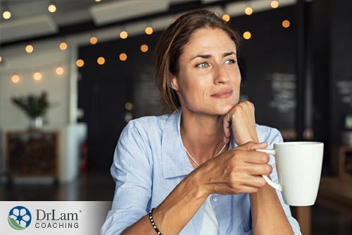 An older woman interested in taking DHEA and hormones to improve her health