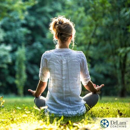 Restoring balance with the benefits from meditation