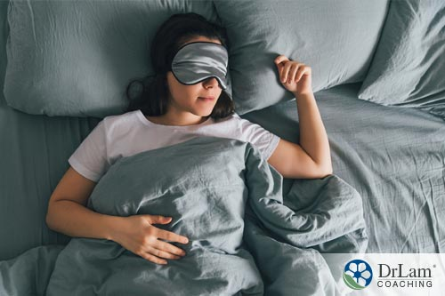 A sleeping woman showing how your sleep is affected by the Neuroaffect circuit