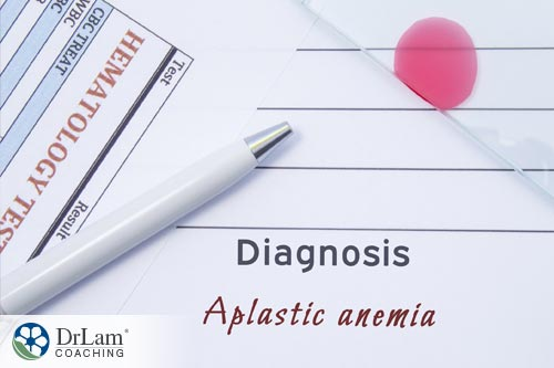 Aplastic anemia is one of several types of anemia