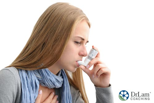 Salicylate sensitivity and asthma symptoms