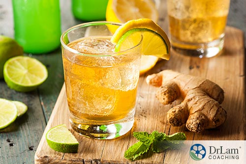The benefits of ginger water