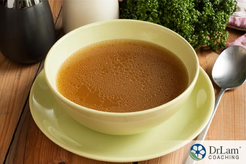 Improve gut microbiome with bone broth