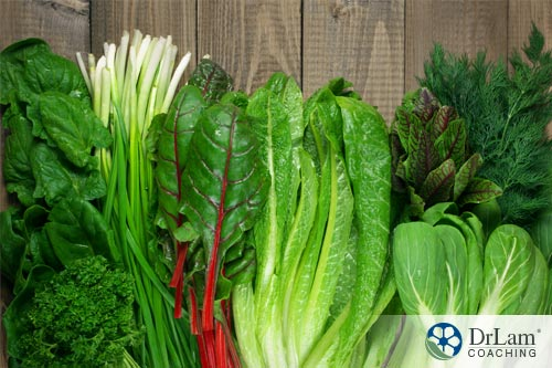 Nitric oxide and dark leafy green vegetables