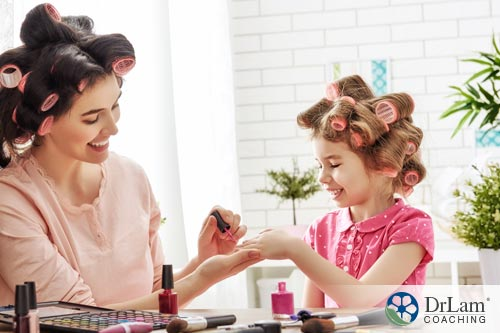 Painting children's nails may contribute to poor  air quality