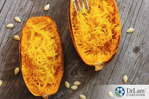 Spaghetti squash is low in calories