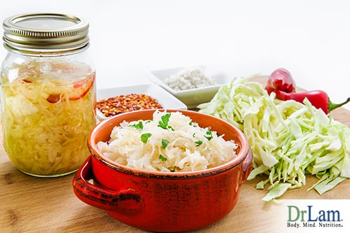 Peanut allergy remedy and fermented foods