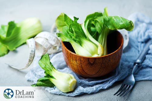 Foods to eat for lowering c-reactive protein: bok choy