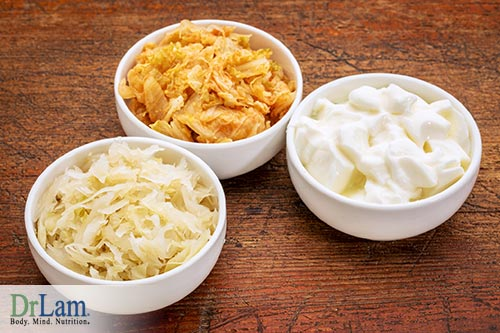 Natural Dandruff Remedies: Fermented Foods