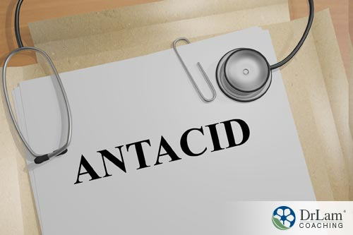 Nitric oxide and antacid