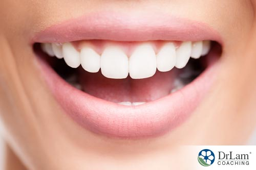 Shiny white teeth is one of nutritional benefits of cheese