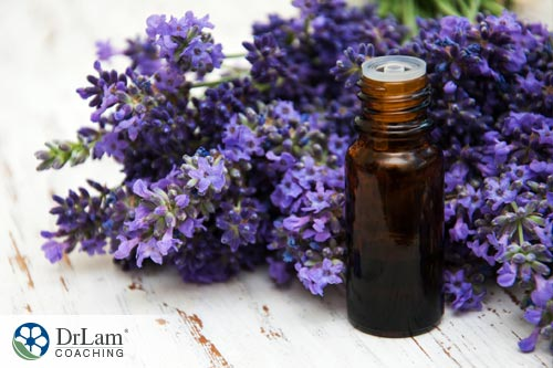 Relaxing essential oils: Lavender oil
