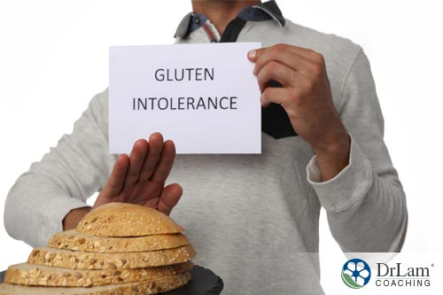 Sensitivity of gluten and brain health