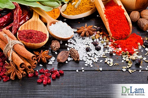 natural inflammation remedies using herbs and spices