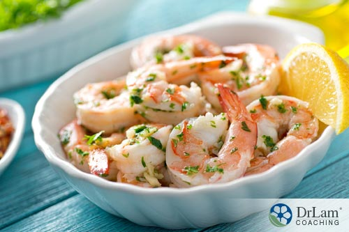 Avoiding healthy foods: Shrimp