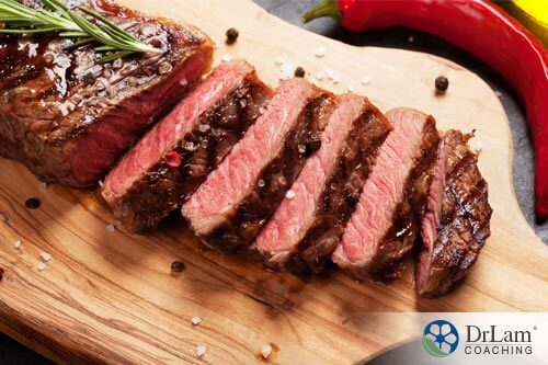 a slab of meat that can delay menopause for up to a year