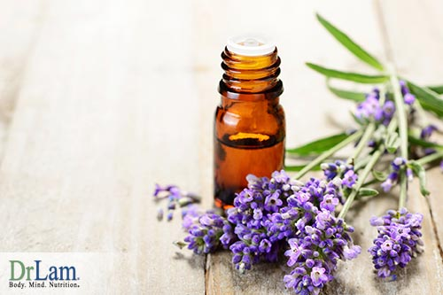 Essential oils for relaxing and sleep, Lavendar