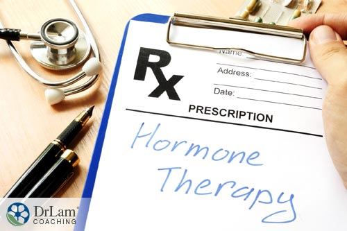 Hypothalamus hormones are affected by hormone therapy