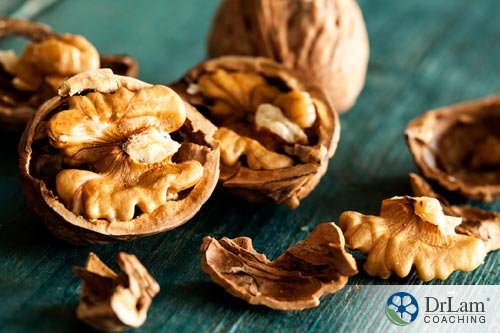 Nitric oxide and walnuts