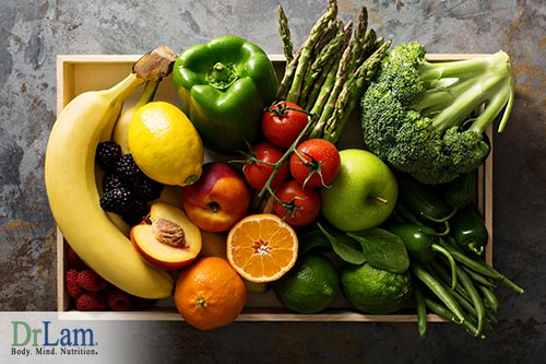 Fruits, vegetables, and psychological well being