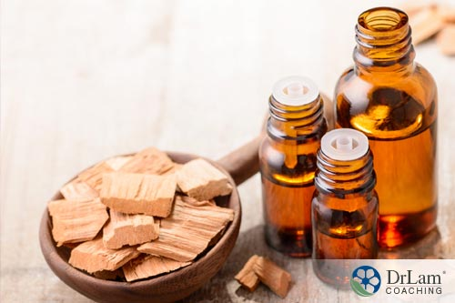 Relaxing essential oils: Sandalwood oil