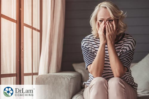 women on couch worried about the sources of xenoestrogens