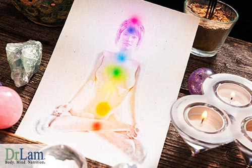 Chakra healing foods can help improve energy points