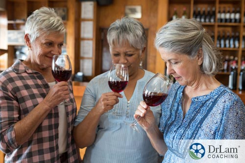 You have to be fit and strong to extract the benefits of wine
