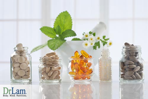 Supplements and psychological well being