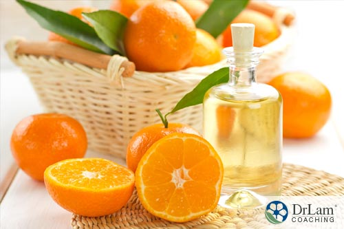 Relaxing essential oils: Orange essential oil