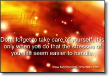 Lighten the Burden of Stress