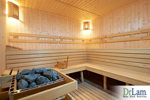 Sauna's are a great form of heat therapy to treat your adrenal fatigue