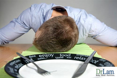 Digestion and fatigue after eating