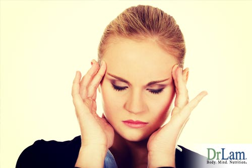 A woman suffering adrenal fatigue who may benefit from bentonite clay detox