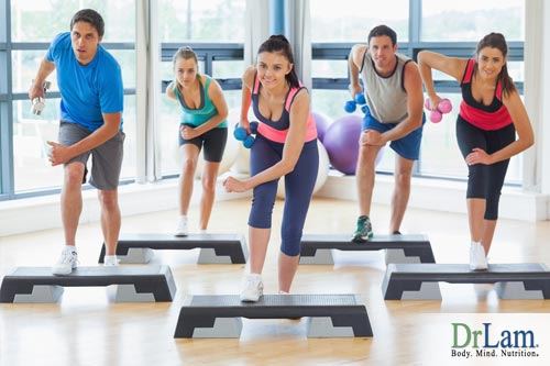 Aerobics improve the success of body cleansing and detoxification